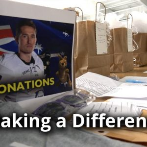 Making a Difference: Hockey Wildfire Relief Fundraiser