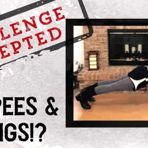 BURPEES + WINGS!? - TAP DANCE FITNESS CHALLENGE! - StopSoldierSuicide.org Fundraiser - Vlog