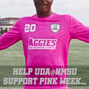 Pink Shirt Fundraiser with UDA Soccer at NMSU