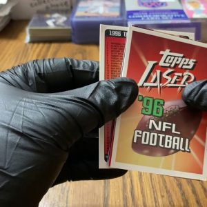 1996 Topps Laser Football Part 2!! 9/11 Fundraiser shout out for The One and Only Bud Stoney!!!