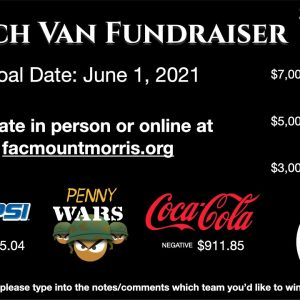 We need you!!! Church Bus Fundraiser